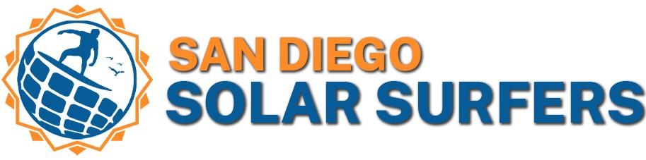 SD solar surfer logo